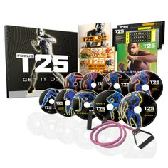 Shaun T's new workout system will get you fit in just 25 minutes a day! We love it!