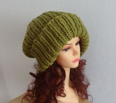 Super Slouchy Beanie Big Slouchy Baggy Hat Winter Fall by Ifonka
