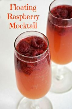 Easy Raspberry Mocktail