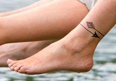 Tatouage cheville chat - 20 idées de tatouages pour habiller nos chevilles - Elle