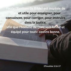 2 Timothée 3: 16-17