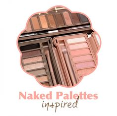 Paletas Naked da Urban Decay Inspired