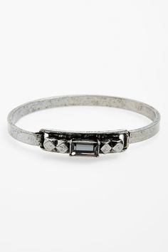 Berry Crystal Closed Hinge Bracelet by Berry