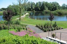 Landelijke tuin villa