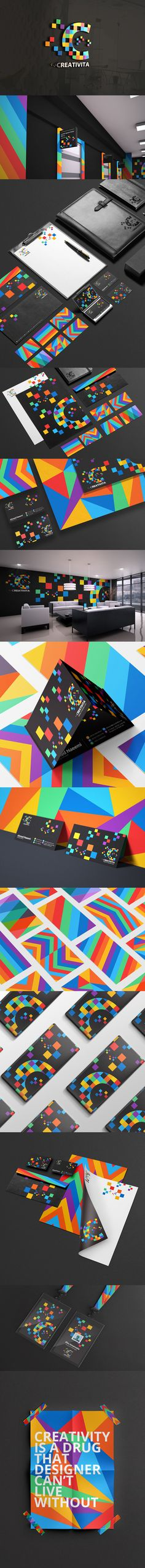 Creativita brand identity Creativita is a design studio based in the Kingdom of Bahrain.