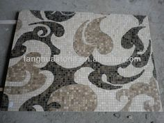 rectangular table top mosaic art - Google Search