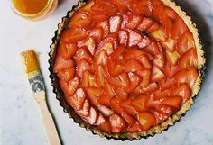 Strawberry Lime Tart by yossy | apt2bbakingco, via Flickr
