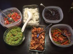 Made Chipotle Chicken Burrito Bowl for Dinner Tonight