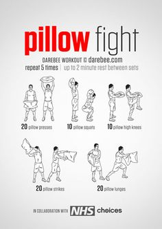 Pillow Fight Workout