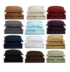 Clara Clark Super Soft 1800 TC Duvet Cover Tax & Free Home Delivery Queen $45 King $50 Comes With 2 Pillow Shams
