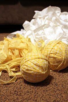 Sugar Bee Crafts: Rag Rug Tutorial