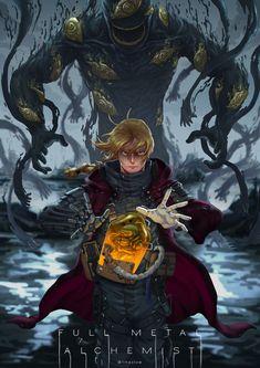 Full Metal Alchemist X Death Stranding on Behance Full Metal Alchemist, Manga Anime, Anime Art, Elric Brothers, 鋼の錬金術師 Fullmetal Alchemist, Arte Cyberpunk, Edward Elric, Estilo Anime, Animes Wallpapers