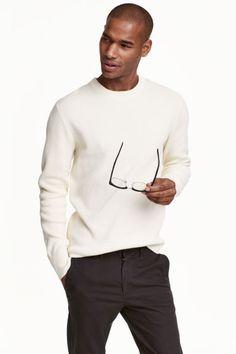 Štruktúrovaný pulóver | H&M