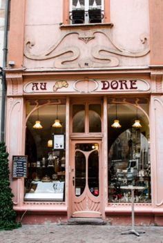 "This romantic shop is from our feature ""Christmas in Colmar"""