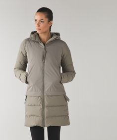 Lululemon Winter 15 | Cold as Fluff Parka *Subzero | $348 | We designed this cozy, 650-fill-power goose down parka with cold weather in mind.