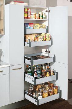 Hochschrank Küche Ada Weiss Hochglanz