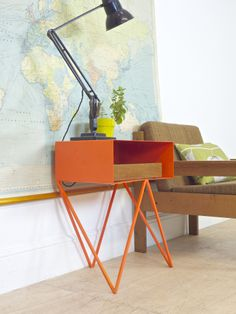 Robot side table by &New