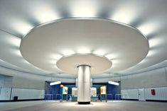 Bockenheimer Warte Metro Station in Frankfurt, Germany