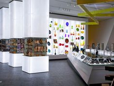 Backlight. Denver Art Museum and Shop by Roth Sheppard Architects, Denver store design
