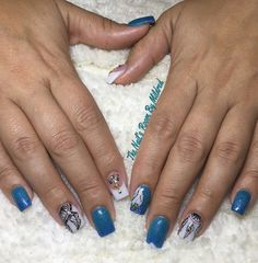 Love it when my clients have the patience for me to paint  dreamcatchers and feathers ( have been requested A LOT) #thenailsroom #uñas #uñasacrilicas #uñasdecoradas #handpainted #handpaintednailart #nails #nailart #notpolish #squarenails #dreamcatcher #feathers #glitter #glitternails #sparkles #bluenails #ombrenails #acrylic #acrylicnails #yn #youngnailsinc #youngnailsacrylic #nailsonpoint #nailsoftheday #nailsofinstagram #nailprodigy #nailpromote #nailpromagazine