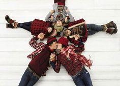Family Christmas shoot idea