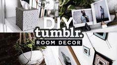 DIY Tumblr Inspired Room Decor 💡✂️ 🔨 (2017) - Minimal & Easy // Imdrewscott - YouTube