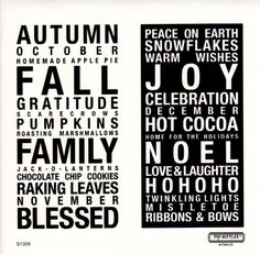 """Create with """"Poster Tidings"""" - a great 'subway art' stamp set.  Click here for info: http://julie.ctmh.com/Retail/Product.aspx?ItemID=7477=953"""