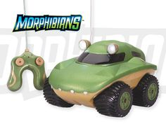 #Morphibians GATOR. Full function #radio-controlled & can perform on land & water. Drive anywhere.  Ages 5+ At all Imagination Toys & Shoes, Houston, Tx