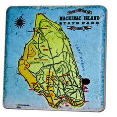 Mackinac State Island Coaster