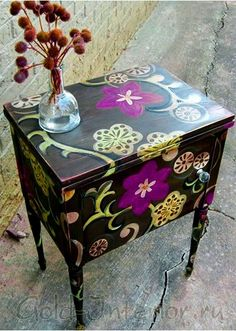 Painted Furniture Ideas ♡