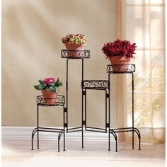 Zingz and Thingz 4-Tier Plant Stand Screen
