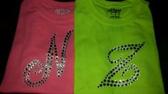 Personalized Rhinestone T-shirts by God's Child Creations Inc
