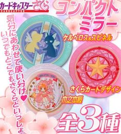 clamp banpresto card_captor_sakura kero-chan kinomoto_sakura spinel compact_mirror girls_memories