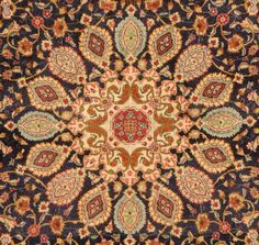 """Persian carpet 3, is an essential part of Persian art and culture. Carpet-weaving is undoubtedly one of the most distinguished manifestations of Persian culture and art, and dates back to ancient Persia.Iranian carpets can be divided into three groups; Farsh / Qali (sized anything greater than 6×4 feet),  Qalicheh ( meaning """"small rug"""", sized 6×4 feet and smaller),   carpets known as Gelim (including Zilu, meaning """"rough carpet"""").In this use, Gelim includes both pile rugs and flat weaves."""