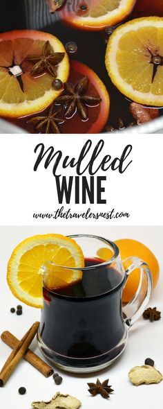If you enjoy a nice glass of wine, you should try this seasonally appropriate mulled wine recipe! Cozy up and sip away!