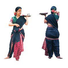 Karnataka Bhootheyara | PHOTOS: This Is How The Sari Is Tied In 14 Indian States