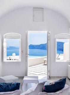 Santorini house
