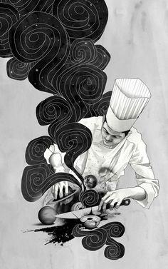 Galactic Chef Art Print