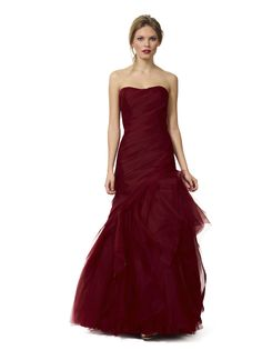Liancarlo Style 3145. French tulle and silk organza dropped torso gown with ruffled skirt #redcarpet #evening