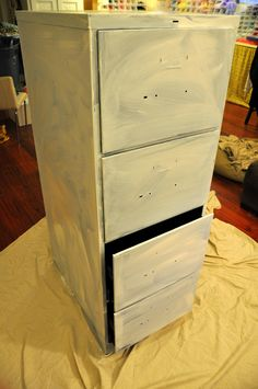 Inspirational Repurpose Metal File Cabinet
