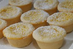 I love lemon and can't wait to try these.  I will use my pecan tart crust instead of this one though.