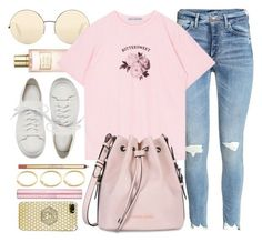 """""""Countdown"""" by monmondefou ❤ liked on Polyvore featuring Estée Lauder, Victoria Beckham, Armani Jeans, Santoni, Versace and Pink - Sale! Up to 75% OFF! Shop at Stylizio for women's and men's designer handbags, luxury sunglasses, watches, jewelry, purses, wallets, clothes, underwear"""