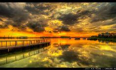 Pandan Reservoir Sunset, http://www.cmmaung.me/