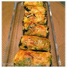 Kolay kol böreği tarifi,ıspanaklı kol böreği,hazır yufkadan kolay kol böreği tarifi,ıspanaklı börek,ıspanaklı buzluk böreği tarifi