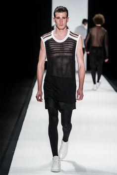 R.Groove Spring/Summer 2015 | Men wearing pantyhose | Pinterest