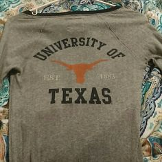UT Victoria secret long sleeve top Only worn a few times. It doesn't fit anymore but still like new. Victoria's Secret Tops Tees - Long Sleeve