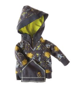Multicoloured Zipper Hoodie by Vicious Wear