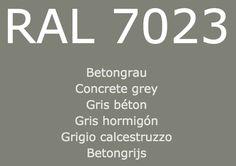 Ral Colours, Colors, Concrete, Bike, Windows, Grey, House, Farm Gate, Bicycle
