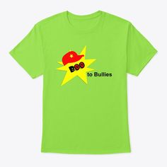 Get your t-shirt, in time for International Anti-Bullying Week in November - this year!