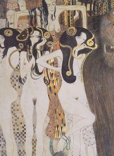"Gustav Klimt (1862–1918), ""The Gorgons and Typhon"" (Detail"
